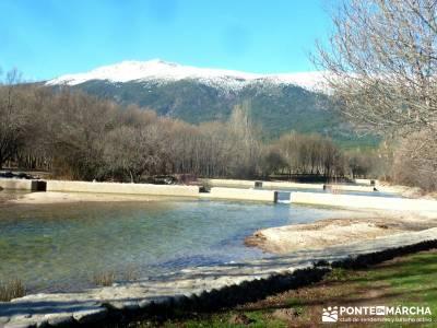Camino Natural Valle del Lozoya; lagunilla yelmo madrid lagunas sierra de grazalema